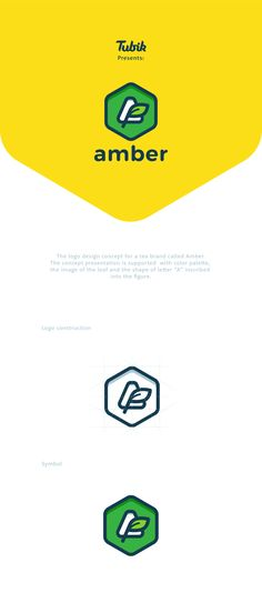 """Check out this @Behance project: """"Amber logo concept"""" https://www.behance.net/gallery/43821911/Amber-logo-concept"""