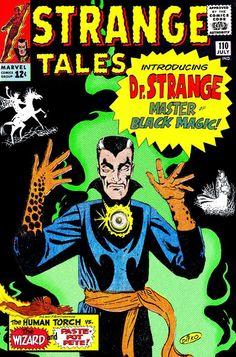 Le Docteur Strange fut créé par Stan Lee et Steve Ditko chez Marvel Marvel Comics, Marvel E Dc, Old Comics, Marvel Comic Books, Vintage Comics, Comic Books Art, Marvel Universe, Stan Lee, Doctor Strange