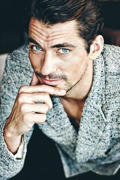 """Inspired Style: David James Gandy """" Meet the Male Model who has been seen as the face of Dolce and Gabbana and has a last name that… """" View Post"""