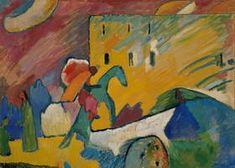 Wassily Kandinsky. Improvisation 3, 1909