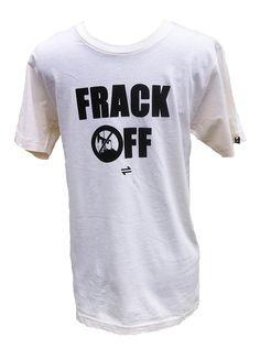 Equillibrium Frack OFF Organic Cotton T-shirt (Unisex)