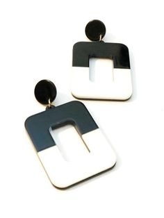 Drop Earrings Women Simple Temperament Geometric Triangular Wooden Earrings Hot Selling Lustrous Jewelry & Accessories