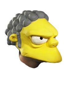Simpsons Moe The Bartender Half Mask