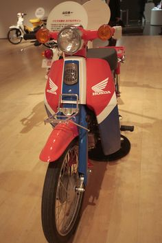 Super Cub - Honda Paint