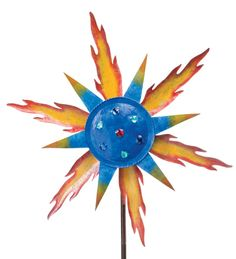 #Southwestern #Star Metal #Wind #Spinner