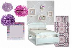 Toddler bedroom - girl!