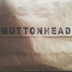 The Muttonhead Store. 337 Roncesvalles Ave. Toronto, ON. Canada.
