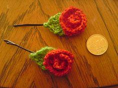 Ravelry: Rose pins pattern by Sarah Kim Tenbuecken