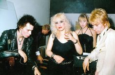 sid and nancy. punk for real deal. original heroine chic