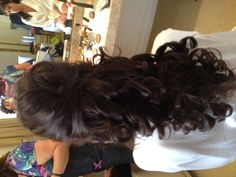 Wedding hair, long hair , wedding style
