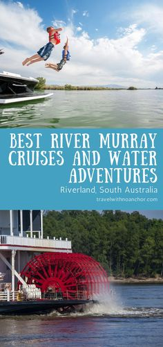 The Best Murray River Cruises and Water Adventures in the Riverland, South Australia Visit Australia, South Australia, Western Australia, Australia Travel, Melbourne Travel, Boat Hire, Packing, Budget, Travel Inspiration