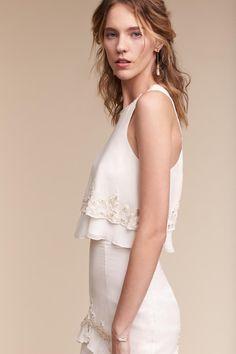 Ivory Allegra Gown | BHLDN