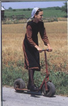 "This is an ""approved"" form of transportation for many Amish children and…                                                                                                                                                                                 Plus"