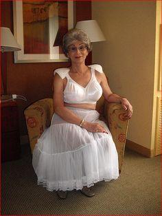 Wet panties horny grandma