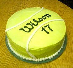 Tennis Cake #wilson #birthday