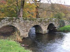 Saint-Lambert Bridge in Vresse-sur-Semois, Namur Ardennes, South Belgium.