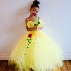 Disney Belle Beauty & the  Beast inspired  Gown by CordeliaRoyle
