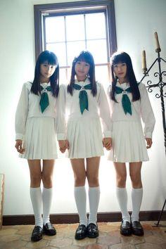 ハロプロ: 田村芽実 (アンジュルム)/鞘師里保 (モー娘。)/石田亜佑美 (モー娘。)  Hello! Project:  Meimi Tamura (Angerme), Riho Sayashi & Ayumi Ishida (Morning Musumé)