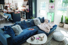 To Choose Living Room Reveal + Rove Concepts Hugo Sectional 1 - Dillardshome Large Furniture, Cool Furniture, Living Room Furniture, Living Room Bar, Home And Living, Lounge Seating, Beautiful Living Rooms, Living Room Inspiration, Bars For Home