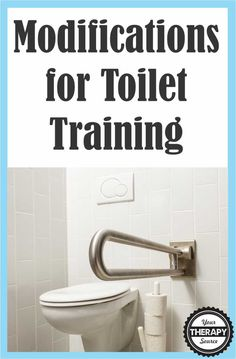 If a child has delays in gross motor skills that are affecting toilet training, here are 6 modifications for toilet training. Motor Skills Activities, Gross Motor Skills, Therapy Activities, Learning Activities, Toddler Potty Training, Activities Of Daily Living, Pediatric Occupational Therapy, Toilet Training, Parents As Teachers