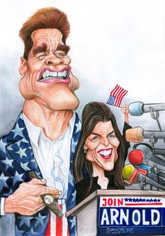 Cagle Post - Political Cartoons & Commentary - » Maria Shriver, Arnold Schwarzenegger