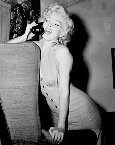 Marilyn Monroe in 1952.