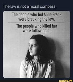 Found on iFunny Make America Kind Again, Pro Life Quotes, Excellence Quotes, Words Quotes, Sayings, Qoutes, Let That Sink In, Anne Frank, Morals
