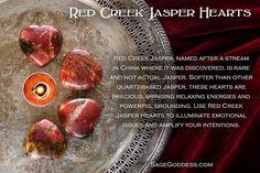 Enjoy the unique, rare energy of Red Creek Jasper. #SageGoddess #Stones #Gemstones #Healing #Magic #Metaphysical #HappyHolidays #GiftGuide #Gifts #StockingStuffer