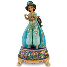 Disney Princess Sonata Jasmine Figurine by Jim Shore | Figurines & Keepsakes | Disney Store