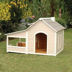 Precision Pet Products 2713-27123 Outback Savannah Dog House