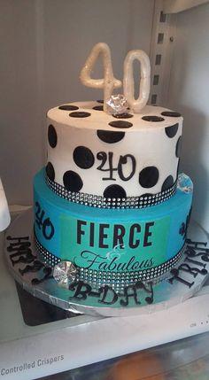 40 b-day cake