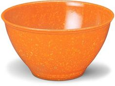 I own an original version of this plastic bowl which Rachael uses to hold scraps: it's called Bootonware or Texasware and it's also speckled, holds up well to use (without scratches), and is unbreakable.