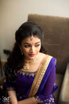 Find out about cute hairstyles Bridal Hairstyle For Reception, Bridal Hairstyle Indian Wedding, South Indian Bride Hairstyle, Bridal Hair Buns, Bridal Hairdo, Indian Wedding Hairstyles, Lehenga Hairstyles, Hairstyles For Gowns, Bride Hairstyles