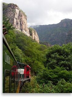 The Chepe train in Mexico runs 673 km (418 mi), traversing the Copper Canyon, a beautiful and rugged series of canyons that have led some to call this the most scenic railroad trip on the continent.