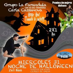 HOY MIERCOLES DE HALLOWEEN Y CANDELA !!!!!