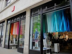UNIQLO spring windows and in store displays 2014 by Elemental Design, London visual merchandising