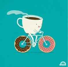 .#cafeina sobre ruedas