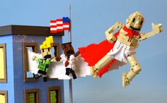The Adventures of Captain Underpants in LEGO