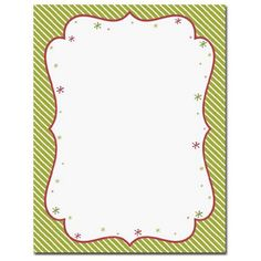 Peppermint Twist Letterhead Sheets – Sophie's Favors and Gifts