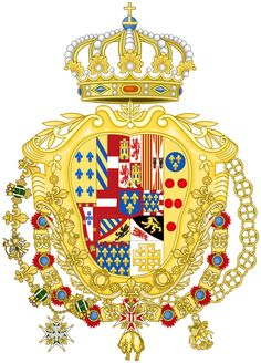 Ferdinand 1 of the Two Sicilies - naples heraldry - Google Search