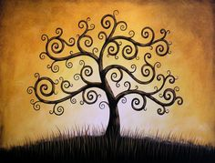 8 x 10 Glossy Giclee Print  Tree of Life  from by PaintingPrints, $22.00