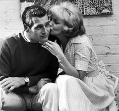 """""""Sexiness wears thin after a while and beauty fades, but to be married to a man who makes you laugh every day, ah, now that's a real treat."""" - Joanne Woodward on Paul Newman"""