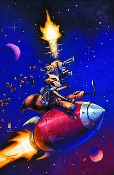 Rocket Raccoon #2 via IGN
