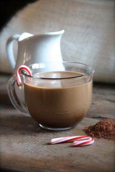 How to Peppermint Mocha Coffee Creamer