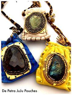 De Petra signature JuJu Pouches amulets & charms collection