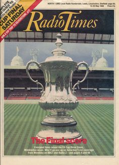 Radio Times Cover 1988-05-14 FA Cup