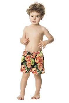 The perfect swim trunks for your little man are Agua Bendita Grove Swim Shorts!  #boys #boysfashion #kidsshorts