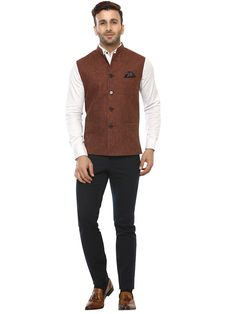 Buy Lee Marc Brown Linen Cross Nehru Jacket Online at Low prices in India on Winsant, India fastest online shopping website. Shop Online for Lee Marc Brown Linen Cross Nehru Jacket only at Winsant.com. COD facility available. #jacket #indianwear #indianwear #leatherjacket #coat #suit #ethnic #ethnicwear