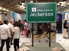 Client: Jeckerson - PITTI Exhibition Stand Location: PITTI Firenze