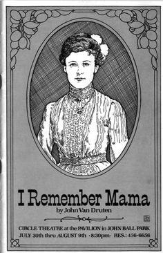 #IRememberMama #CircleTheatre 1981